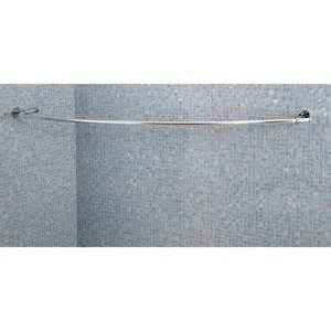 Curved curtain rail curtain design