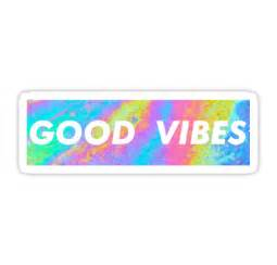Good vibes quot stickers by semiradical redbubble