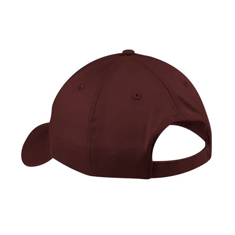 Cp Maroon port company cp80 six panel twill cap maroon