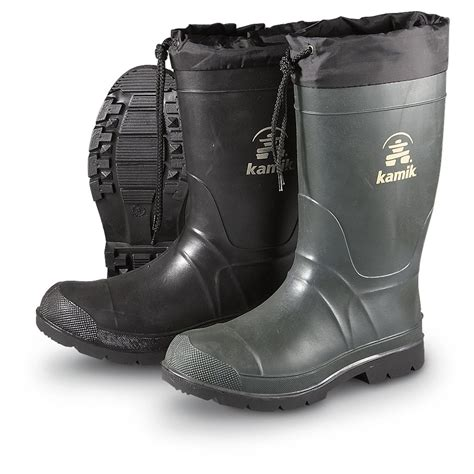 Insulated Rubber Boots by S Kamik 174 Insulated Boots 168487 Rubber