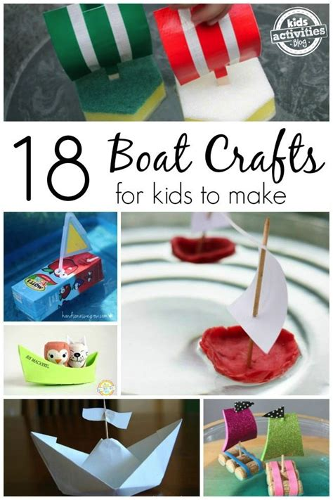 How To Make Arts And Crafts Out Of Paper - 25 best ideas about boat craft on boat