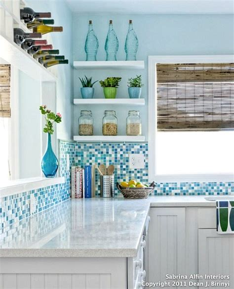 beachy backsplash the marriage light blue beachy