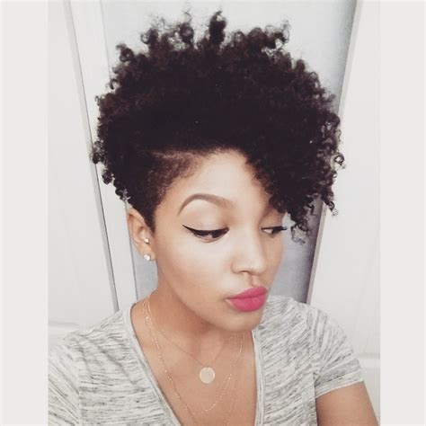 natural hairstyles tapered cut with long hair tapered natural haircuts for black women