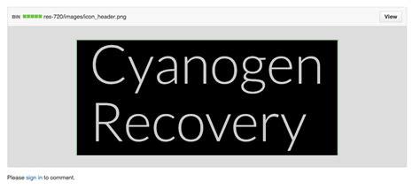 android recovery cyanogen d 233 velopperait cyanogen recovery pour remplacer cwm ou twrp 235 l roland ma revue