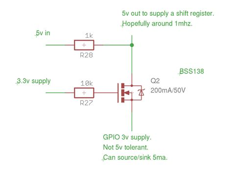transistor pnp 5v 3 3v to 5v conversion with non 5v tolerant part single npn transistor electronicsxchanger