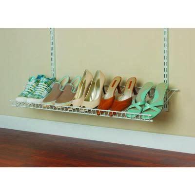 Closetmaid Wire Shoe Rack Shelves Home And Shoe Shelves On