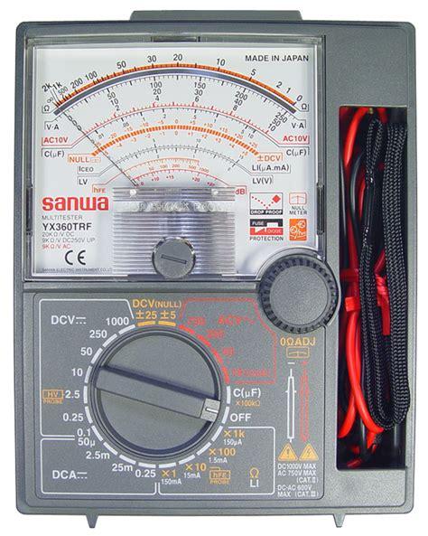 Multitester Sunwa Yx 360 소리전자 부품판매 자작용 계측기