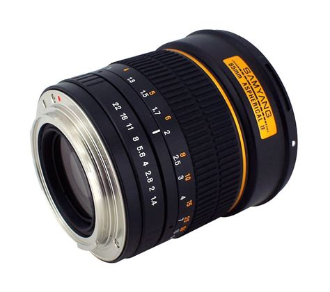samyang 85mm f 1 4 canon samyang 85mm f 1 4 ae lens coming soon for canon dslr cameras