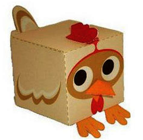manualidades hechas con carton de animales animales de carton recortar y armar