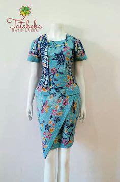 Kebaya X083 By Xaverana Boutique tenun maumere batik dress tenun kebaya