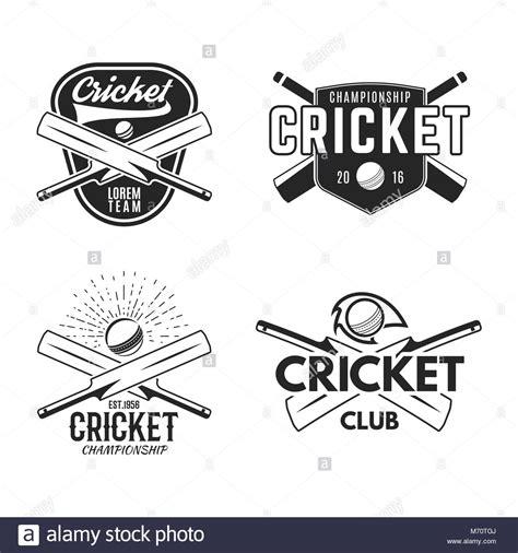 Aufkleber Drucken Ingolstadt by Cricket Logo Stockfotos Cricket Logo Bilder Alamy