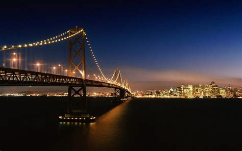 California Lighting by Wallpapers San Francisco Bay Bridge Wallpapers