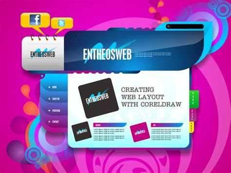 page layout design cdr 29 best images about coreldraw tutorials on pinterest