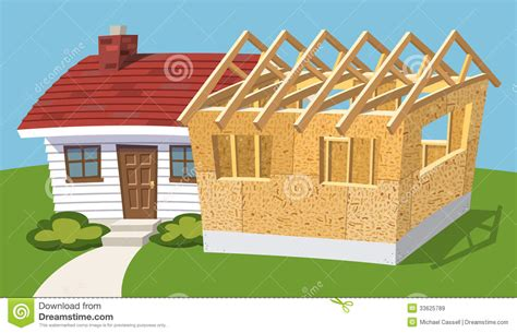 home addition royalty  stock images image
