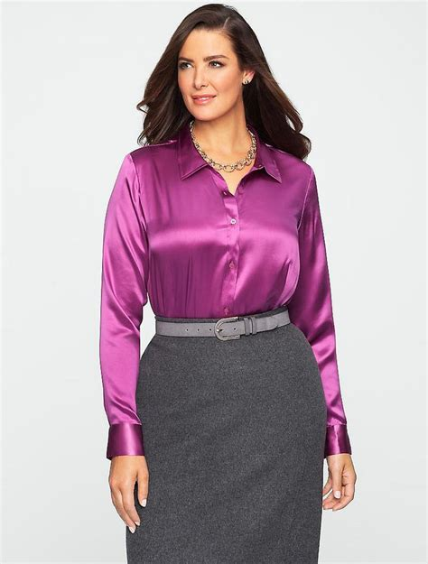 More Satin Looks by 15184448878 544cfbaffa B Jpg 775 215 1024 Blouses