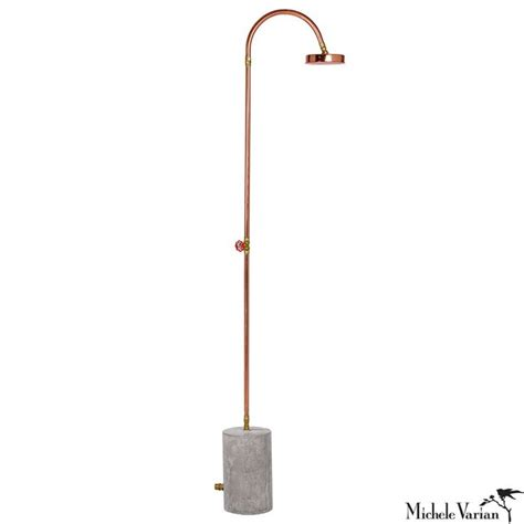 copper outdoor showers copper outdoor shower gardens copper and overalls