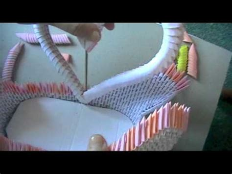 3d Origami Swan Boat - link 3d origami swan loveboat part 3