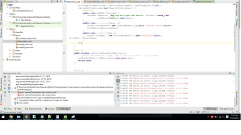 layout snackbar xml java changing xml acitivies on button click stack overflow