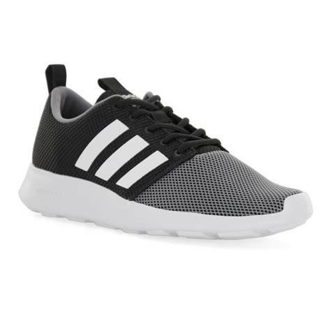 Adidas Cloudfoam Grey Denim adidas neo mens cloudfoam trainers black grey mens from loofes uk