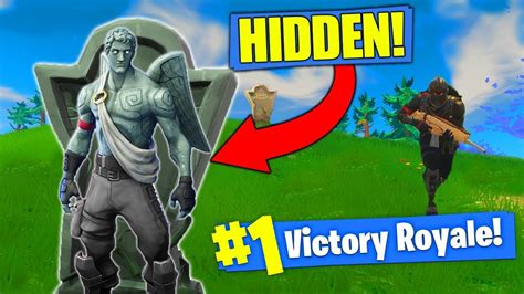 fortnite muselk the invisible gargoyle strategy in fortnite battle royale