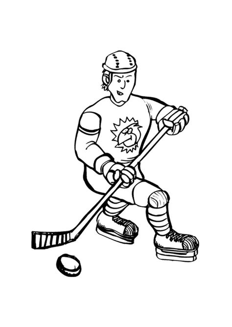 printable hockey images free printable hockey coloring pages for kids