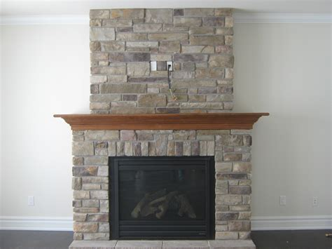 custom fireplace with country ledge rick
