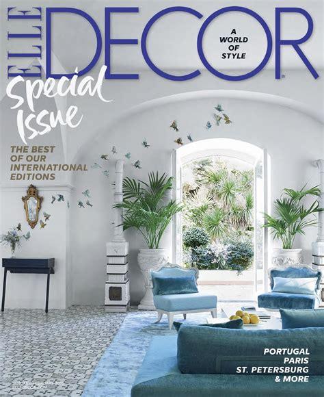 elle decor magazine subscription for 4 50 saving with elle decor usa january february 2016 by francesco della
