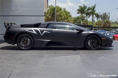 Black Lamborghini Price Black Lamborghini Murcielago Sv For Sale In Miami Gtspirit
