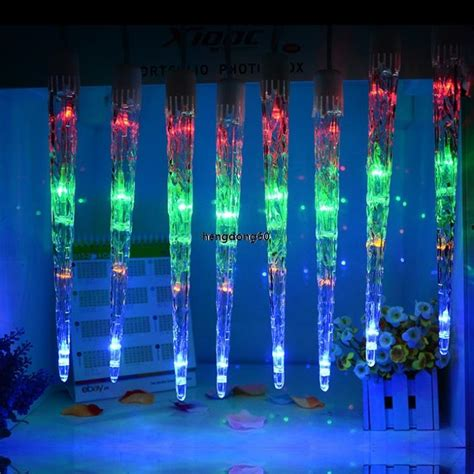 led christmas icicle light add on tubes icicle string led dripping light outdoor christmas wedding