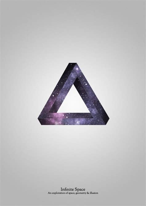 tattoo infinity triangle infinite space potential chest piece tattoo ideas
