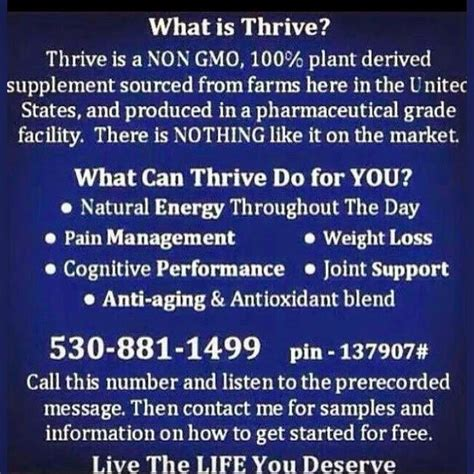 thrive level what is level thrive