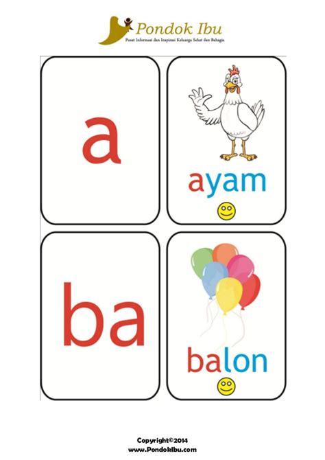 Pintar Menulis Huruf Abjad Besar Dan Kecil Jilid 1 Dan 2 2 Buku kartu pintar membaca huruf a b