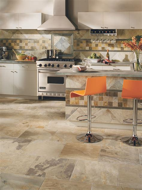 ceramic tile kitchen tile flooring in the kitchen hgtv