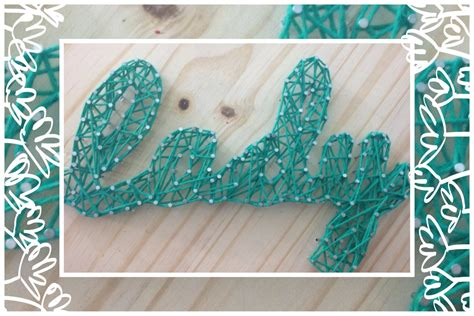 Nail And String Tutorial - diy nail string tutorial
