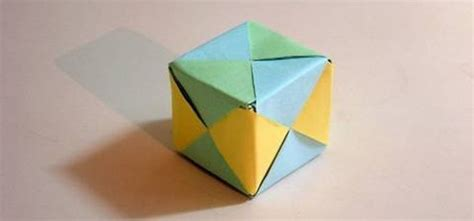 Origami Up Cube - origami a how to community for paper folding artists