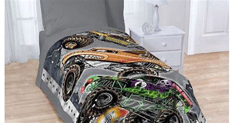 grave digger truck bedding jam blanket trucks grave digger cars boys bedding