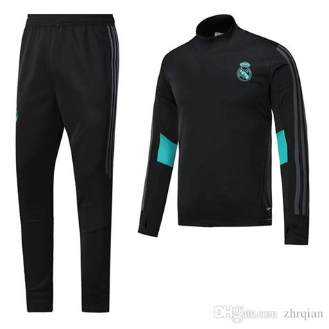 Midlayer Real Madrid 1 Stel Tracksuit 17 18 Grade Ori 17 18 real madrid tracksuit sweater suit