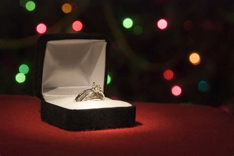 how to propose at christmas staggered