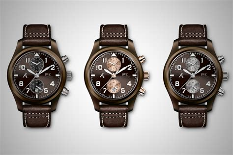 pilot watchs army edition the last flight iwc pilot chronograph edition