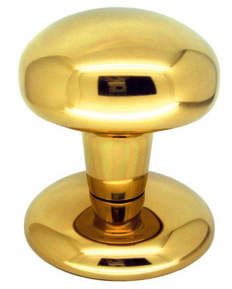 Center Door Knobs by Bendio Center Door Knobs Polsihed Brass Finish