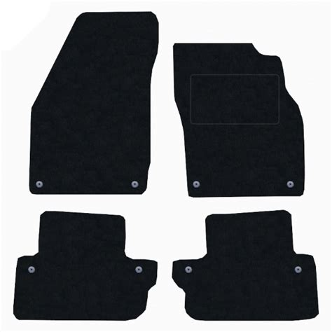 volvo c70 2006 onward manual car mats by scm