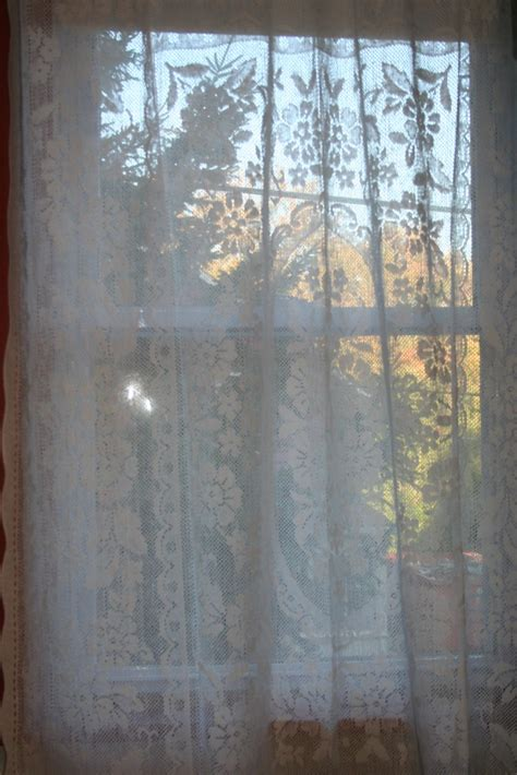 diy lace curtains diy window curtain vintage flower garden lace tablecloth