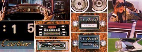 1979 Lincoln Versailles Optional Equipment