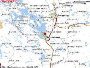 muskoka canada map from chutney to maple syrup our move to canada map of