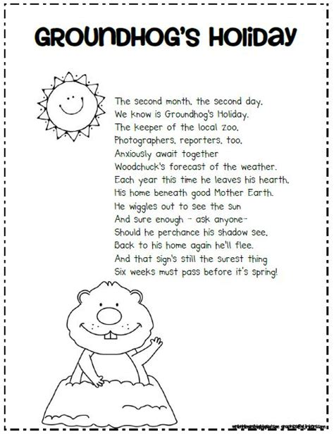 groundhog day poem mrs brinkman s groundhog day 2013