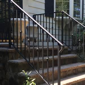 Exterior Handrail Kits For Stairs by Exterior Wrought Iron Railings Outdoor Wrought Iron