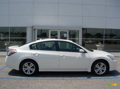 nissan altima white 2010 2010 winter frost white nissan altima 3 5 sr 48770393