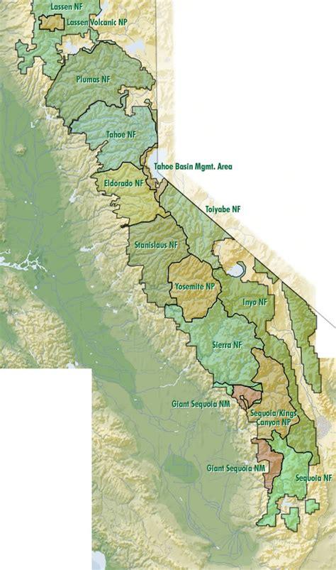nevada mountains map map of california nevada mountains california map