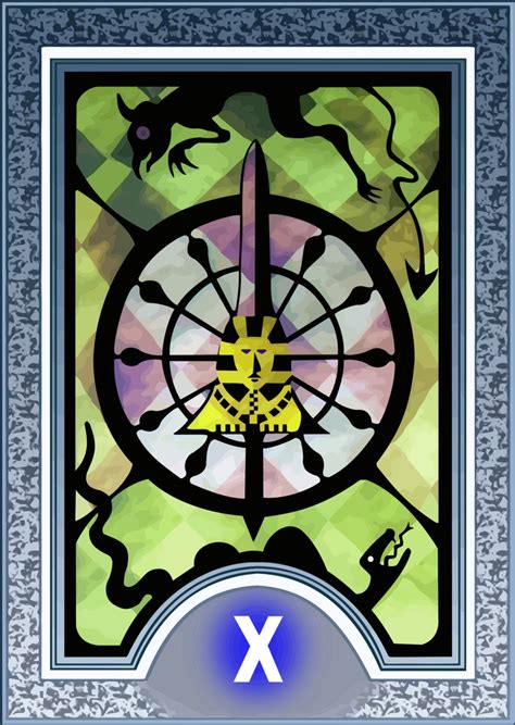 persona 4 card penalty persona tarot card hd the wheel of fortune by the stein
