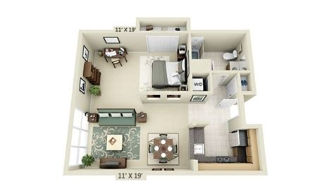 studio apartment floor plan design studio apartment 3d floor plan interior design ideas